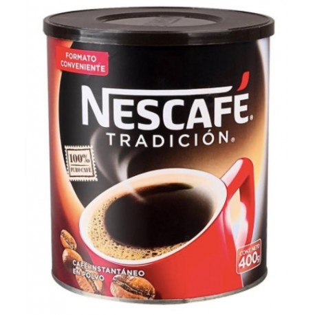 Cafe tarro Nescafe 400 gas