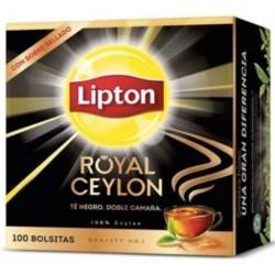 Te Lipton Black Label 100 bolsitas
